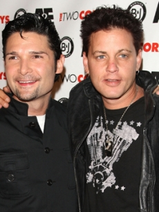 Corey Feldman and Corey Haim in 2007