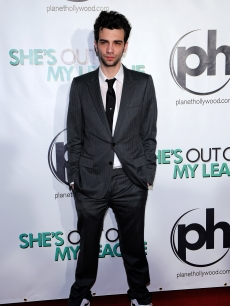 Jay Baruchel arrives at the Las Vegas premiere of 'She's Out of My League' at the Planet Hollywood Resort & Casino in Las Vegas on March 10, 2010
