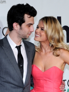 Jay Baruchel and Alice Eve at the Las Vegas premiere of 'She's Out of My League' at the Planet Hollywood Resort & Casino on March 10, 2010 in Las Vegas