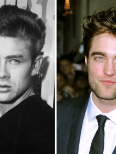 James Dean and Robert Pattinson