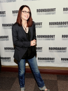 &#8216;Party Down&#8217;s&#8217; Megan Mullally attends the &#8216;Lips Together, Teeth Apart&#8217; cast meet and greet in New York City on March 16, 2010 