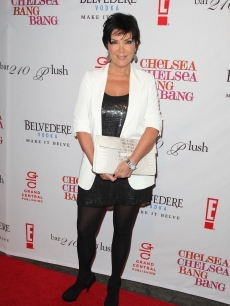 Kris Jenner attends Chelsea Handler's book party for 'Chelsea Chelsea Bang Bang' at Bar 210/Plush at the Beverly Hilton Hotel in Beverly Hills, Calif. on March 17, 2010