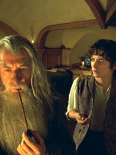 Ian McKellen and Elijah Wood in 2001's 'The Lord of the Rings: The Fellowship of the Ring'