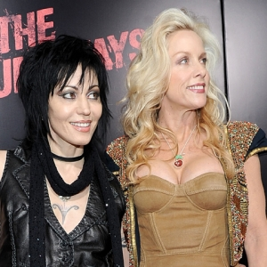 Joan Jett, Cherie Currie &amp; Tatum O&#8217;Neal At &#8216;The Runaways&#8217; Premiere, Los Angeles