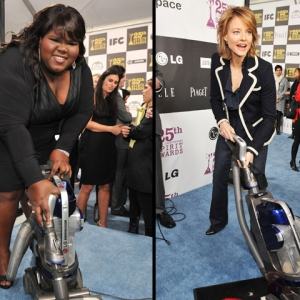 Behind The Scenes: Starts Gift It Up At 25th Independent Spirit Awards