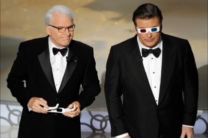 Steve Martin and Alec Baldwin on stage during the 82nd Annual Academy Awards held at Kodak Theatre on March 7, 2010 in Hollywood, Calif.