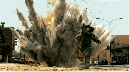 An exposive scene from 'The Hurt Locker'