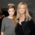 Heather Locklear and daughter Ava Sambora at &#8216;White Trash Beautiful&#8217; by Richie Sambora and Nikki Lund at Sunset Gower Studios in Hollywood, California on March 19, 2010