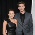 Miley Cyrus and boyfriend Liam Hemsworth arrive at the premiere of 'The Last Song,' ArcLight Hollywood, March 25, 2010