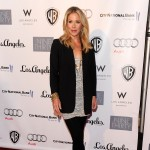 Christina Applegate poses on the red carpet at the Geffen Playhouse's Annual Backstage at the Geffen Gala in Los Angeles, Calif. on March 22, 2010
