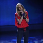 Didi Benami performs 'Rihannon' after being eliminated from 'American Idol' on March 31, 2010
