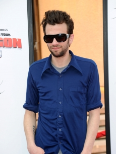 'She's Out of My League' star Jay Baruchel arrives at the premiere of 'How To Train Your Dragon' at the Gibson Amphitheatre in Universal City, Calif. on March 21, 2010