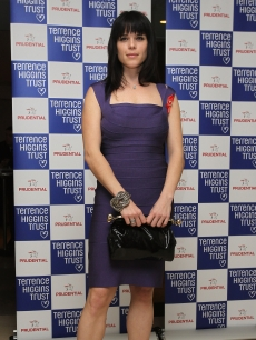 Neve Campbell attends the Lighthouse Gala Auction at Christie's King Street on March 22, 2010 in London, England