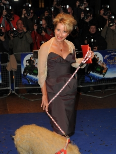 Emma Thompson attends the UK Film Premiere of 'Nanny McPhee And The Big Bang' at Odeon West End, London, March 24, 2010