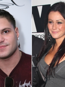 Ronnie Magro and Jenni 'J-WOWW' Farley