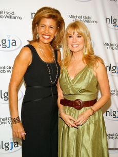 Hoda Kotb and Kathie Lee Gifford step out at the NLGJA's 15th Annual New York Benefit at Mitchell Gold & Bob Williams' SoHo Store in New York City on March 25, 2010