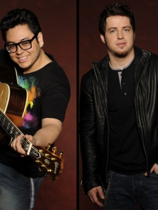 Andrew Garcia and Lee Dewyze
