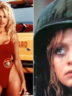 Pamela Anderson in &#8216;Baywatch,&#8217; Goldie Hawn in 1980&#8217;s &#8216;Private Benjamin&#8217;