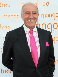 Len Goodman arrives for 'An Audience With Beverley Knight' at the Mango Tree restaurant, London, July 21, 2008