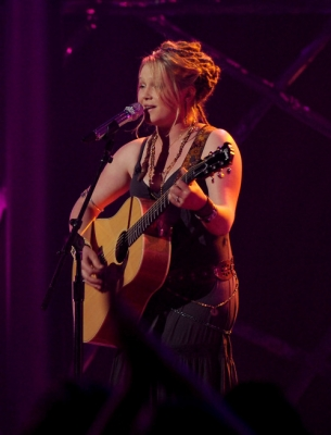 Crystal Bowersox performs 'Me & Bobby McGee' during 'American Idol' Season 9, March 23, 2010