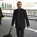 Ringo Starr arrives at Heathrow Airport in London, England, on April 4, 2010