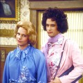 "Tom Hanks and Peter Scolari in the 1980's ABC sitcom ""Bosom Buddies"""
