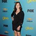 Molly Shannon arrives at FOX's 'Glee' spring premiere soiree held at Bar Marmont, Los Angeles, April 12, 2010