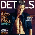 Ryan Kwanten on the cover of Details magazine, 2010