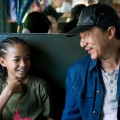 Jaden Smith and Jackie Chan in a scene from Columbia Pictures' 'Karate Kid' due to be released on June 11, 2010