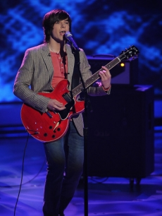 Tim Urban takes on 'All My Loving' during Top 9 week on 'American Idol' on April 6, 2010
