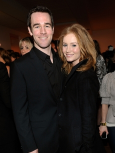 James Van Der Beek and girlfriend Kimberly Brook attend 'The Stylist Project' exhibition hosted by Vanity Fair and Dior held at LeadAPRON, Los Angeles, on March 1, 2010