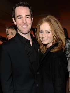 James Van Der Beek and girlfriend Kimberly Brook attend &#8216;The Stylist Project&#8217; exhibition hosted by Vanity Fair and Dior held at LeadAPRON, Los Angeles, on March 1, 2010