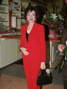 Dixie Carter makes the scene at the 'Family Law' party on October 4, 2000
