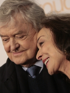 Hal Holbrook and Dixie Carter share a sweet moment at the 7th Annual Breakthrough of the Year Awards in LA on December 9, 2007