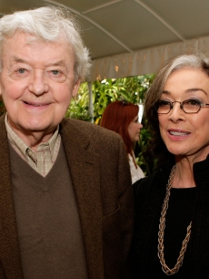 Hal Holbrook and Dixie Carter together at the Eighth Annual AFI Awards in LA on June 11, 2008