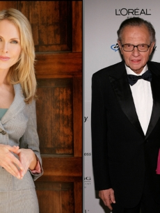 Shannon Engemann, Larry King and Shawn Southwick