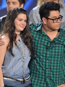 Katie Stevens and Andrew Garcia are sent home on 'American Idol'
