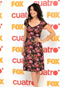 Lisa Edelstein attends a &#8216;House&#8217; promotional photo call at the Villamagna Hotel in Madrid, Spain on April 15, 2010 