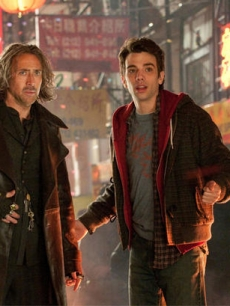 Nicolas Cage and Jay Baruchel in a scene from 'The Sorcerer's Apprentice,' due July 16