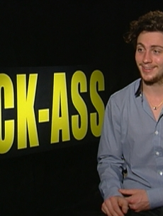 Aaron Johnson On Playing 'Kick-Ass' - 'It's An Iconic' Role