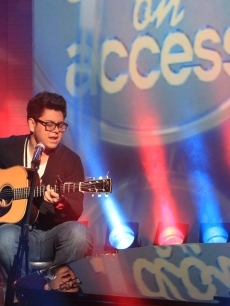 Andrew Garcia on the Access set, April 16, 2010