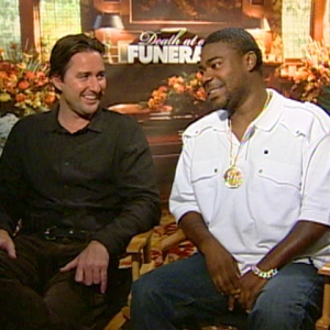 Tracy Morgan &amp; Luke Wilson On &#8216;Death At A Funeral&#8217;