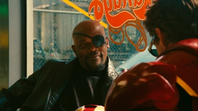 Samuel L. Jackson as Nick Fury in 'Iron Man 2'