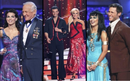 Ashly Costa, Buzz Aldrin, Tony Dovolani, Kate Gosselin, Chelsie Hightower and Jake Pavelka