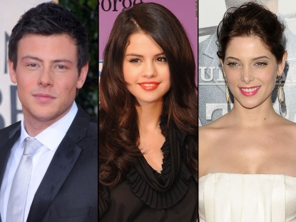 Cory Monteith/Selena Gomez/Ashley Greene