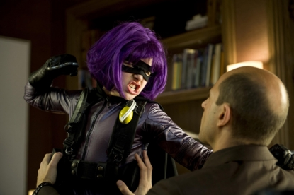 "Chloe Grace Moretz is Hit Girl in ""Kick-Ass"""