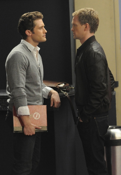 Neil Patrick Harris and Matthew Morrison on &#8216;Glee&#8217;s&#8217; on May 18&#8217;s episode, &#8216;Dream On&#8217;