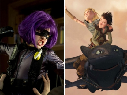 'Kick-Ass' and 'How To Train Your Dragon'