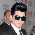 Adam Lambert arrives at the 21st Annual GLAAD Media Awards held at Hyatt Regency Century Plaza in Century City, California on April 17, 2010