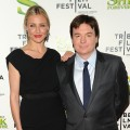 Cameron Diaz and Mike Myers attend the 2010 Tribeca Film Festival opening night premiere of &#8216;Shrek Forever After&#8217; at the Ziegfeld